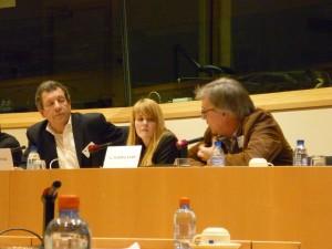 Peter Carpentier, Elisabeth Sjaastad and Ger Poppelaars