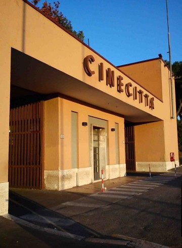 Cinecitta gate